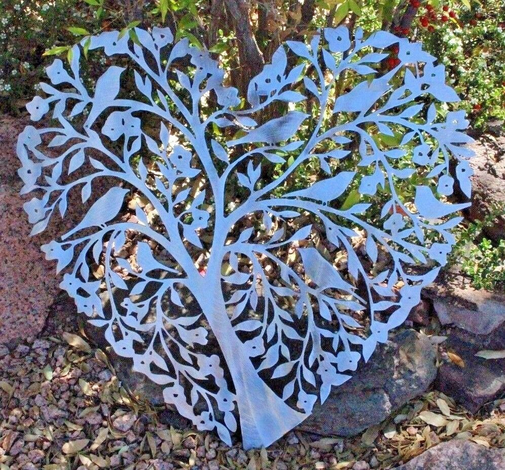 Living Tree Of Life Polierter Stahl 76.2cm   Sorgfältig ausgewählte Materialien
