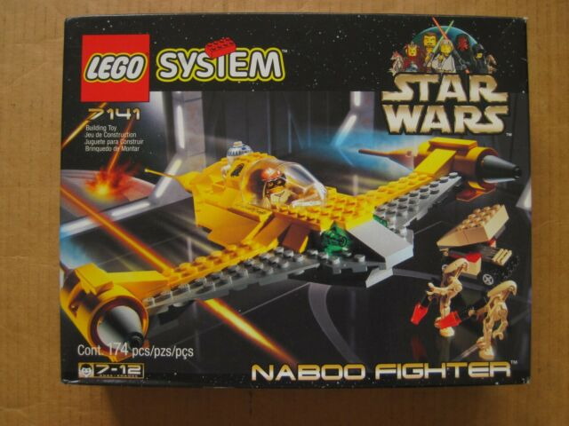 Lego Star Wars 7141 Naboo Fighter - Anakin Skywalker ...