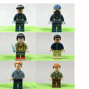 Lego Jurassic World minifigure 75917 Owen Grady minifig