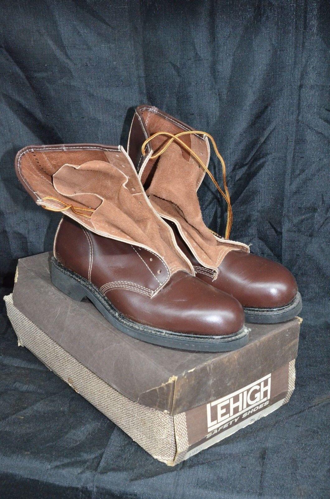 Nos puntera de seguridad Lehigh 1910 eléctricos peligro botas Hombre  2 e Leather Usa