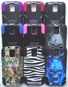 Samsung-Galaxy-S4-Active-SGH-I537-GT-i9295-Phone-Cover-HYBRID-T-STAND-Case