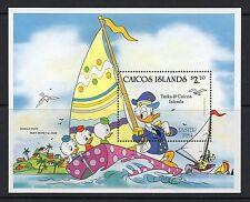 Caicos Islands 1984 Easter Disney Cartoon Characters minisheet SG MS 54 un/mint