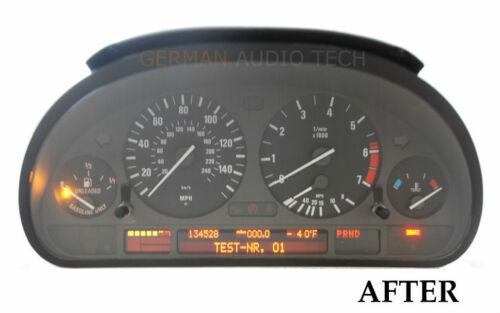 REPAIR SERVICE for BMW INSTRUMENT SPEEDOMETER CLUSTER E38 740 E39 525 530 540 M5