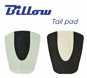 Diamond-Patterned-Traction-Pad-Surfboard-Tail-Pad-DECK-GRIP-BLACK-amp-WHITE