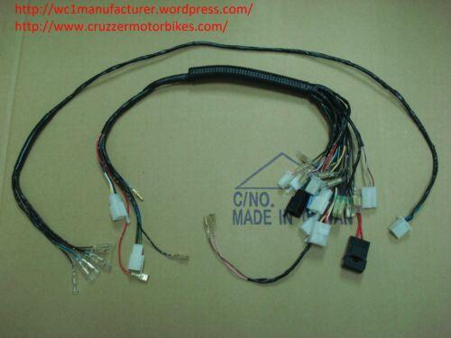 Main wiring harness fits Cruzzer and 2005-2008 whizzer motorbikes