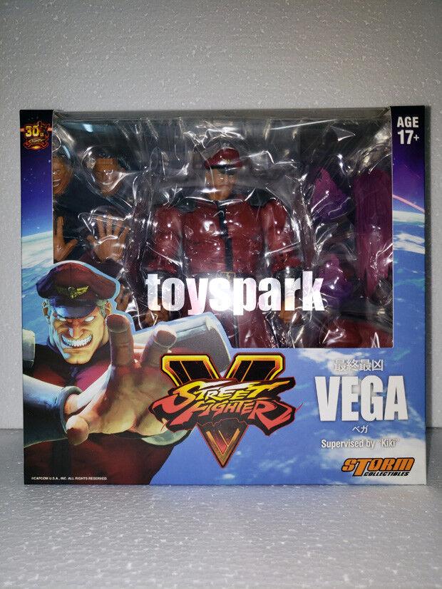 Storm Collectibles Street Fighter V 1:12 M.BISON VEGA Normal Ver action figure