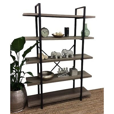 Industrial 5 Tier Shelf Display