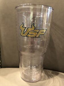 University of South Florida USF Tervis Tumbler 24 oz. Bulls Clear nice