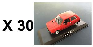 Lotes de 30 coches 1 43 yugo 45A Diecast Modelo Coche URSS al por mayor a granel BA62