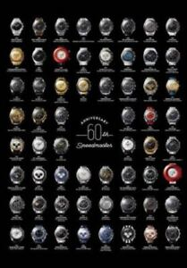 OMEGA Speedmaster 60th Anniversary Poster Booklet Limited Edition
