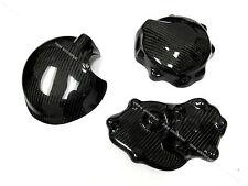 2009 2010 2011 2012 Kawasaki ZX6R Carbon Fiber Engine Cover & Clutch Cover