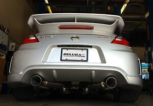High Performance Light Weight Axle Back Exhaust for 370Z NISMO 09 ...