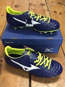 premium selection bdc8c e381b Details about MIZUNO MORELIA NEO KL MIX LEATHER FOOTBALL BOOTS - UK SIZE 11  *BRAND NEW*