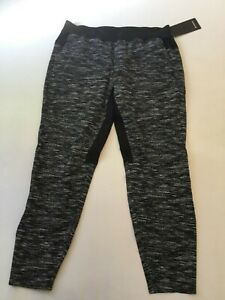 Lululemon Men's In Mind Pant ACTW Black/White LM5627S Size