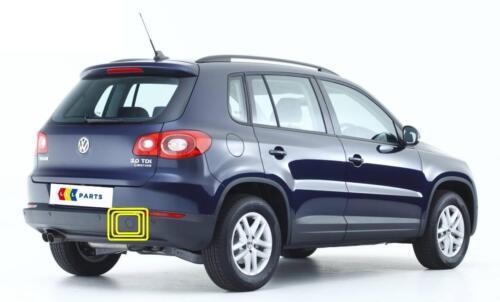VW TIGUAN 07-16 NUOVO ORIGINALE PARAURTI POSTERIORE TRAINO GANCIO COPERCHIO CAP 5n0807441