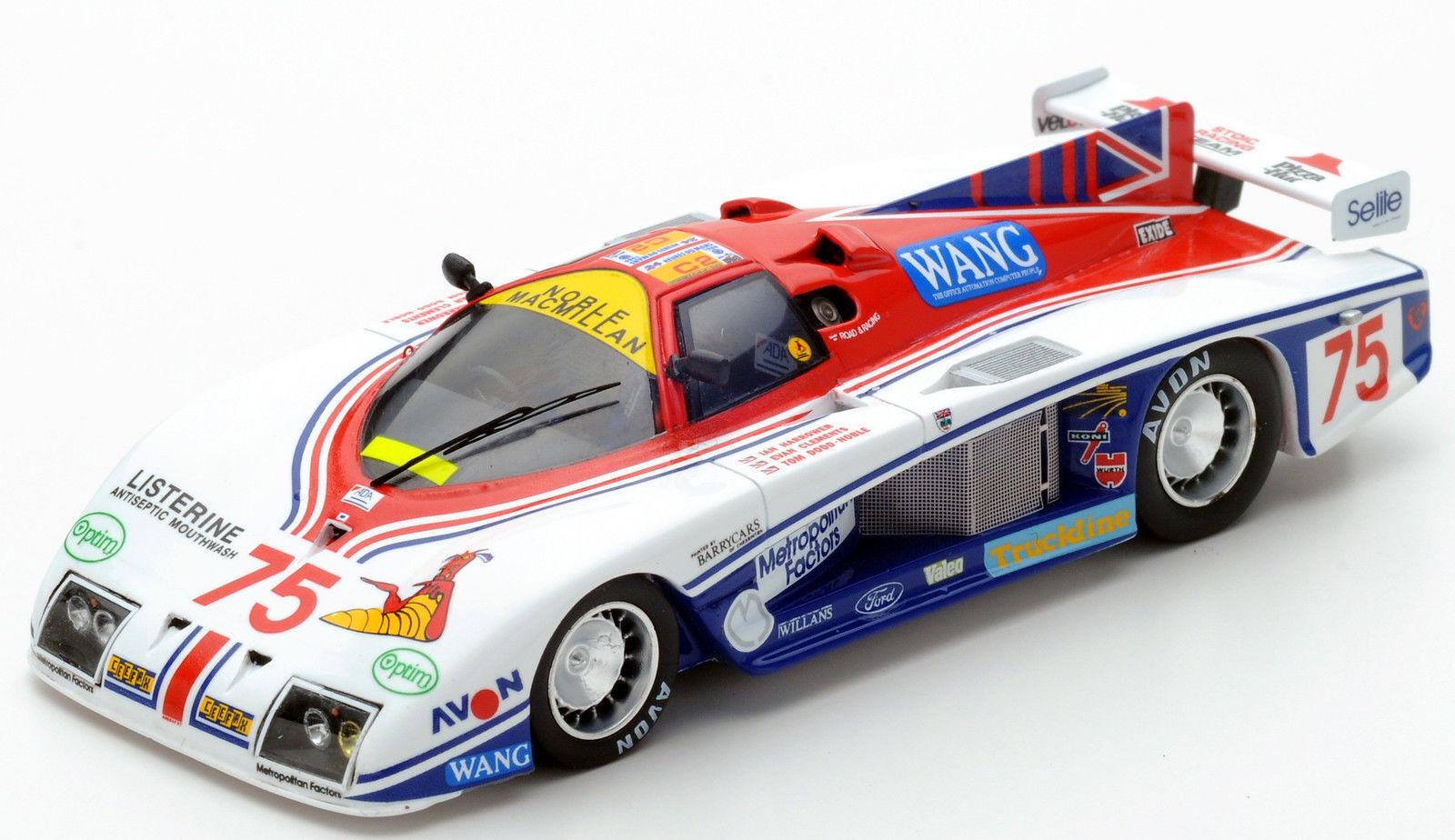 S4097 Spark 1 43  Gebhardt Gebhardt Gebhardt JC843  75 8th Le Mans 1986 I. de Harrower-E. Clements 91ed53