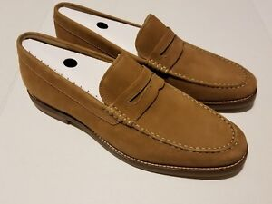 eabbc93698c Sperry Top-Sider Gold Cup Exeter TAN SUEDE Penny Loafer MEN S 15 M ...
