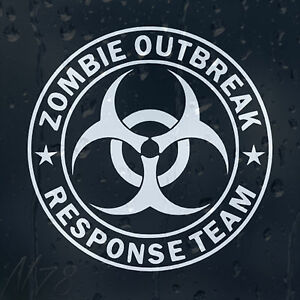 Zombie-Outbreak-Response-Team-Car-Phone-Window-Laptop-Wall-Decal-Vinyl-Sticker