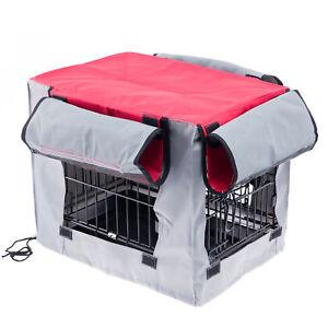 Hundekaefig-Transportbox-Kaefig-Husse-Cover-Huelle-fuer-Transportkaefig-Gr-L104