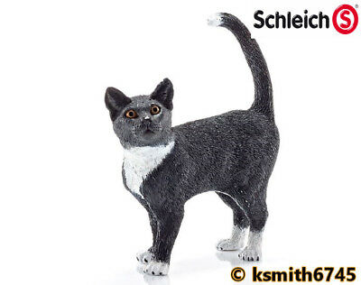 NEW Schleich MAINE COON CAT solid plastic toy PET farm animal predator