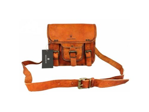 amp  7758969704387 Sling Travel Bag Handmade Genuine Leather Vintage Niche  Style Nick Zvqadwd fc4f793f1be46