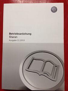 VW SHARAN 2 2015 / 2016 Betriebsanleitung 2016 Bedienungsanleitung Buch Auto - Auerbach, Deutschland - VW SHARAN 2 2015 / 2016 Betriebsanleitung 2016 Bedienungsanleitung Buch Auto - Auerbach, Deutschland