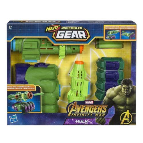 Marvel Avengers Infinity War E0612 Nerf Hulk Assembler Gear