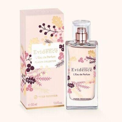 Yves Rocher COMME UNE EVIDENCE L'Eau De Parfum Frasco De Coleccionista 50ml 1.6 fl. OZ. | eBay