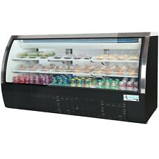 Deli Case New 82 Show Curved Glass Refrigerator Display Bakery Pastry Meat Etl