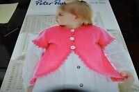 Peter Pan Knitting Pattern Book 361 Dk & 4 Ply