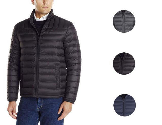 geschickte Herstellung elegant und anmutig Weltweit Versandkostenfrei Tommy Hilfiger Men's Insulated Packable Down Puffer Nylon Jacket
