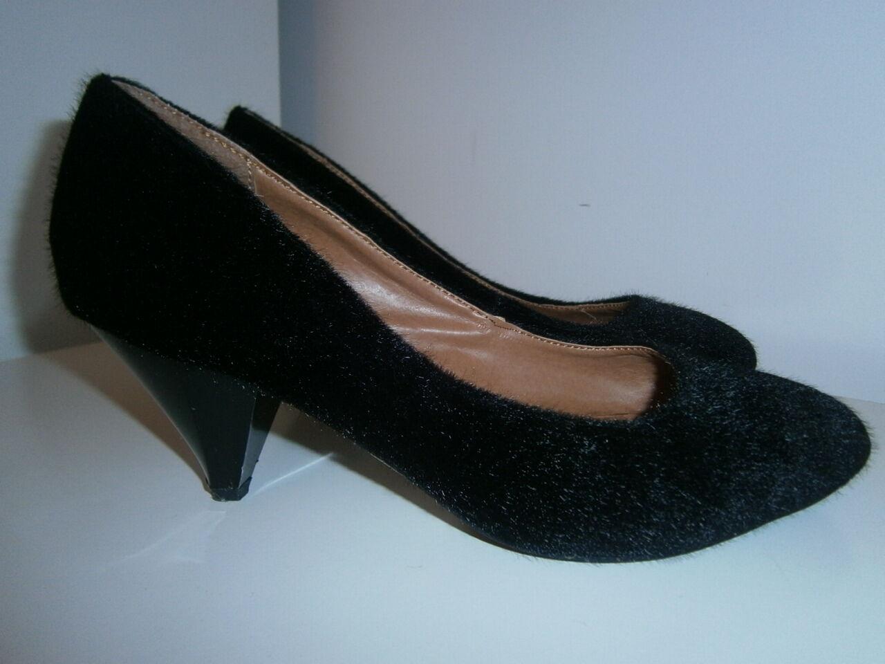 Barratts Papaya size Animal womens black shoes size Papaya 5 adcffd