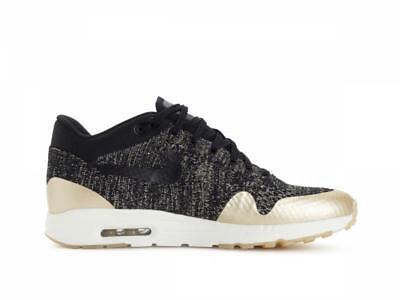 dirt cheap official supplier innovative design Femme Nike Air Max 1 Ultra 2.0 FK mtlc Or Noir Running Baskets ...