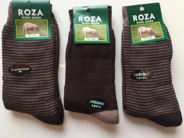 Volitivo 3 Pairs Mens Luxury Wool Blend Thermal Socks Tick Walking Boot Size 6-11 Bmgjdm