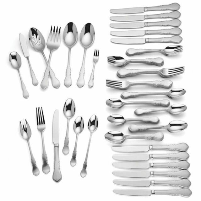 Buy Lenox Wescott 82 Pc Stainless 1810 Flatware Set Service 12