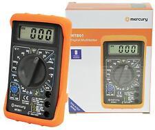 Il mercurio Digitale LCD Multimetro Voltmetro Amperometro AC DC OHM circuito Checker test