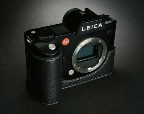 Genuine Leather Half Case for Leica SL (Typ601) or SL2 - BRAND NEW