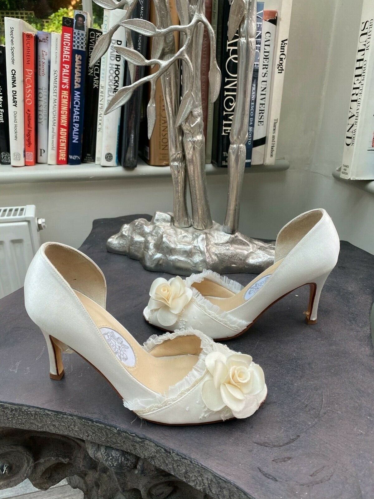 Diane Hassall, 'Sweet Briar' Purest Ivory, Wedding Shoes, UK3 EU36. (RRP )