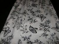 Women's Summer Long Modest Skirt Butterfly White Black Easter 8 Good Clothes