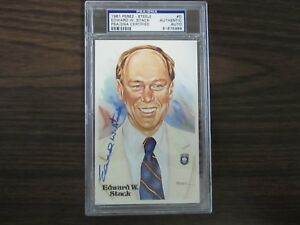 1981-Edward-W-Stack-Autograph-Signed-Perez-Steele-PSA-DNA-Slabed