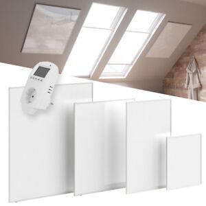 eldstad infrarotheizung infrarot heizk rper heizpaneel thermostat wandheizung ebay. Black Bedroom Furniture Sets. Home Design Ideas