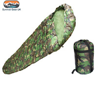 DPM MILITARY STYLE SLEEPING BAG ARMY CADET CAMPING FREE DELIVERY