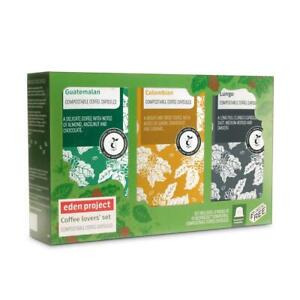 💚 Eden Project Natural Eden Mixed Gift Set Coffe 60 capsules