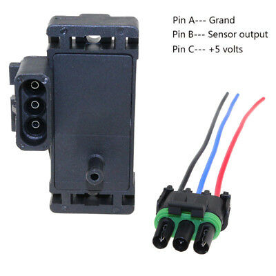 2 bar turbo map sensor for gmc c1500 c2500 with plug connector pigtail 12569241 ebay 2 bar turbo map sensor for gmc c1500 c2500 with plug connector pigtail 12569241 ebay