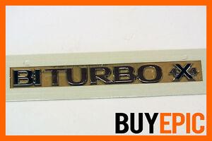 Opel-Bi-Turbo-4x4-Schriftzug-Emblem-Astra-Insignia-Zafira-OPC-VXR-NEU