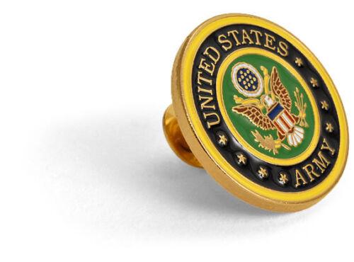 ARMY LOGO GOLD   COLOR  LAPEL PIN IN PRESENTATION BOX