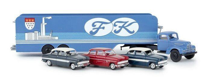 Brekina 49032 - 1 87 ford FK 3500 auto transportador  ford colonia  - nuevo
