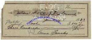 Anne-Lansky-wife-of-Jewish-mobster-Meyer-Lansky-signed-check-1929