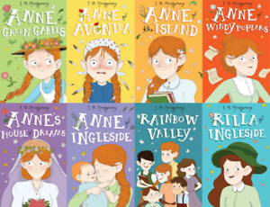 Anne-Of-Green-Gables-8-Books-Children-Collection-Paperback-By-Lucy-Maud-Montgome