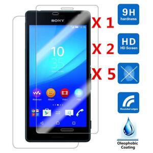 New-For-Sony-Xperia-X-Compact-XA-XA1-Ultra-Tempered-Glass-Screen-Protector-Film